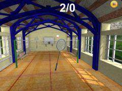 free iPhone app Badminton 3D Classic