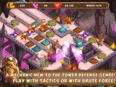 free iPhone app Gnumz: Masters of Defense TD