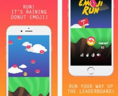 free iPhone app Emoji Run