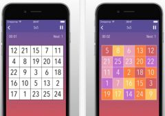 free iPhone app Schulte Table