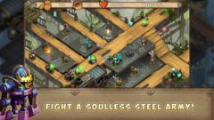 free iPhone app Iron Heart: Steam Tower TD