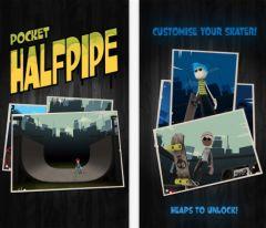 free iPhone app Pocket HalfPipe