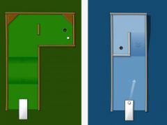 free iPhone app Golfstacle! Minigolf