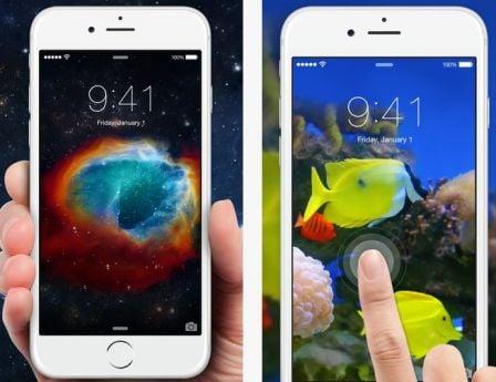 Super De nouveaux fonds d'écran animés pour iPhone 6s/Plus grâce une app  AK24