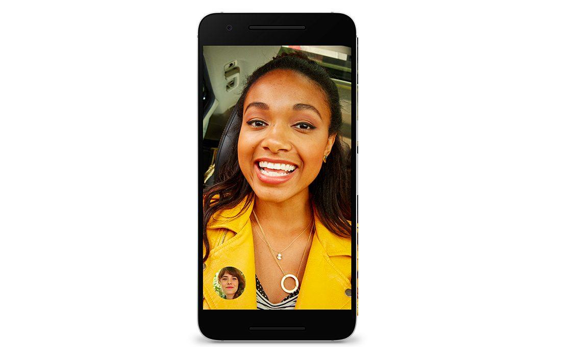 Appel facetime entre iphone et android