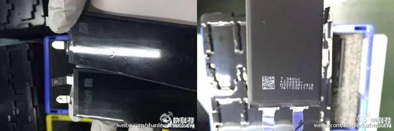 rumeur capacit batterie l g rement augment e pour les iphone 7 iphone x 8 ipad et apple. Black Bedroom Furniture Sets. Home Design Ideas