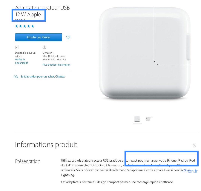 low priced 1ca09 cb1d9 Utiliser le chargeur de l'iPad avec l'iPhone fait-il gagner du temps ...