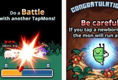 free iPhone app TapMon Battle