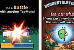 free iPhone app TapMon Battle