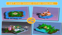 free iPhone app Blox 3D City Creator