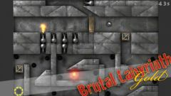 free iPhone app Brutal Labyrinth Gold