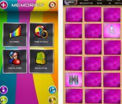 free iPhone app Memories
