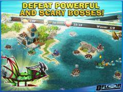 free iPhone app Fort Defenders 7 seas