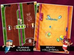 free iPhone app Flick Champions Summer Sports