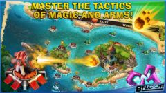 free iPhone app Fort Defenders 7 seas HD