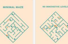 free iPhone app Minimal Maze