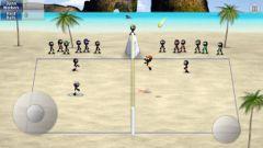 free iPhone app Stickman Volleyball
