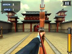 free iPhone app Archer Apple Shooter