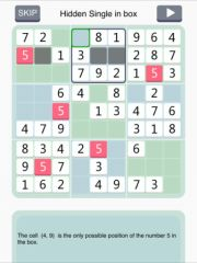free iPhone app Sudoku Institute