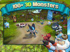free iPhone app Terra Monsters 3
