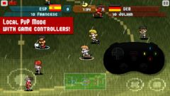 free iPhone app Pixel Cup Soccer