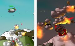free iPhone app Rocket Craze 3D