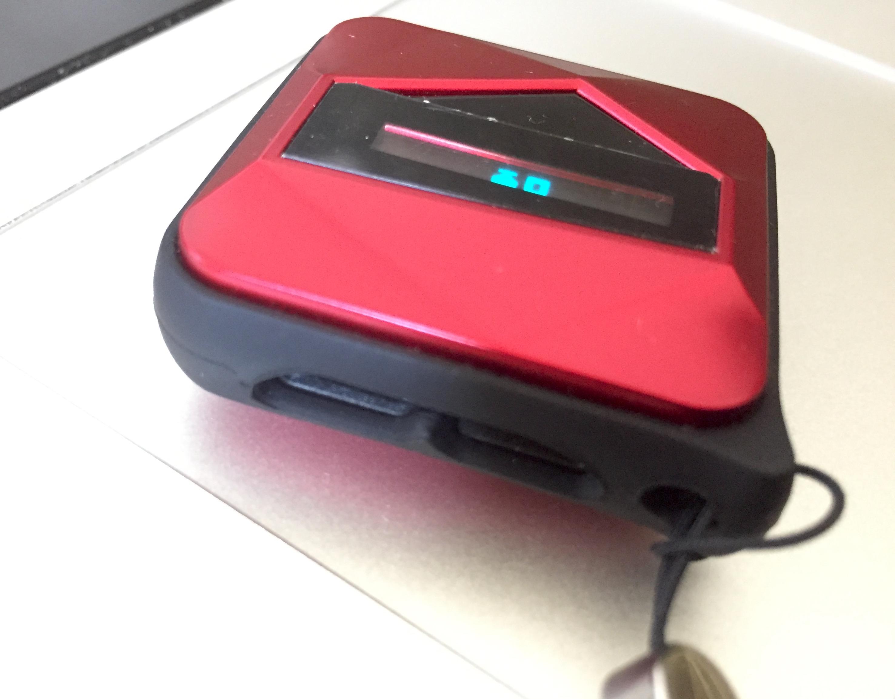 Wearsmith le mini ethylotest connect iphone est pass for Bouton levre interieur