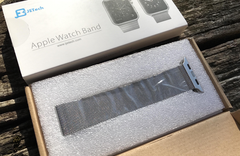 Test du bracelet maille milanaise pour Apple Watch Jetech, vendu ... 9c0621c1604