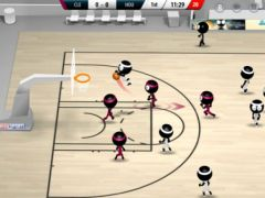 free iPhone app Stickman Basketball 2017