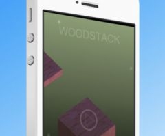 free iPhone app Wood Stacker