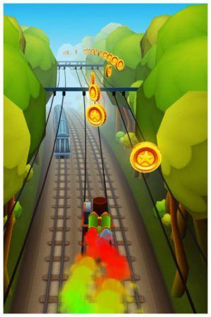 """Subway Surfers : un jeu style """"Temple Run"""" plus moderne pour iPhone et"""