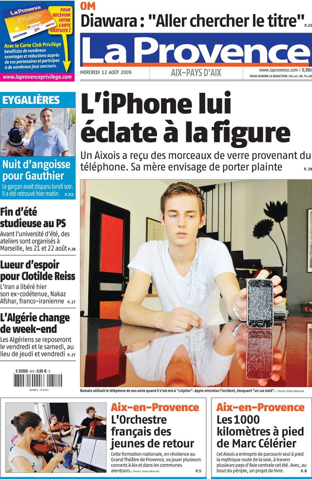 un iphone qui explose plus d 39 infos. Black Bedroom Furniture Sets. Home Design Ideas