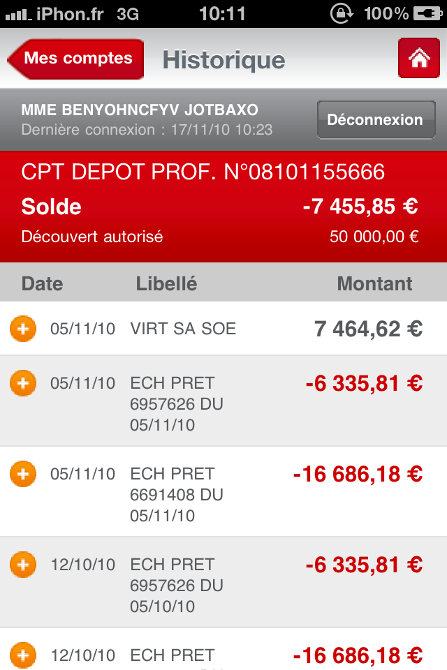 La Caisse D Epargne Lance Demain Son Application Pour Iphone Les