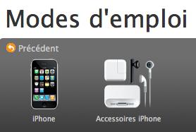 mode d emploi pour l iphone rh iphon fr manuel utilisateur iphone 4s Guide Utilisateur iPad