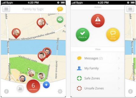 localiser un telephone application iphone