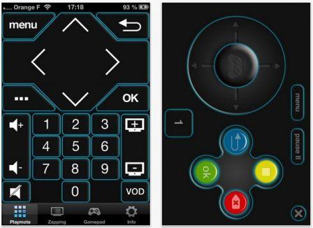 Contr ler le d codeur tv orange avec l 39 iphone c 39 est - Application telecommande orange ...