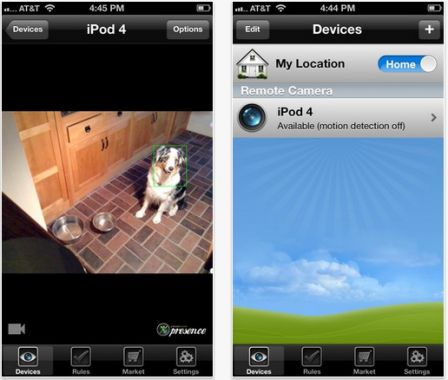 EyeSeeU vous permets de regarder en direct n'importe quelle caméra IP autour du monde.