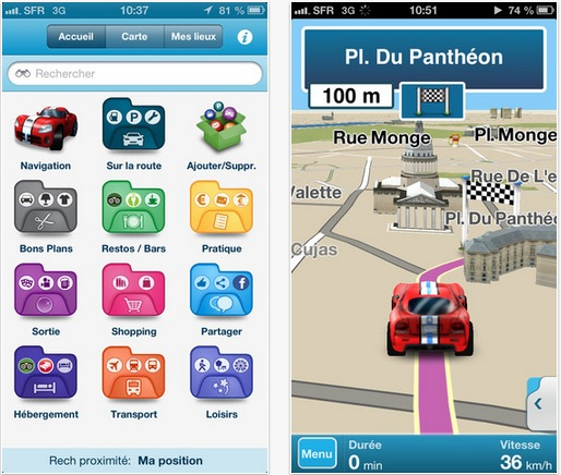 gps gratuit iphone usa