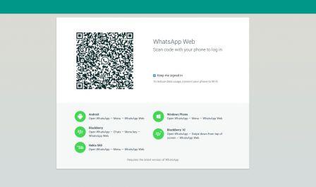Whatsapp disponible en version web mais pas pour tous for Application miroir blackberry