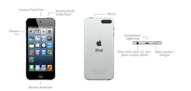 apple propose un nouvel ipod touch 16 go moins cher mais mise jour disponible. Black Bedroom Furniture Sets. Home Design Ideas
