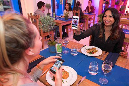 A Londres on peut payer son repas avec ... une photo Instagram