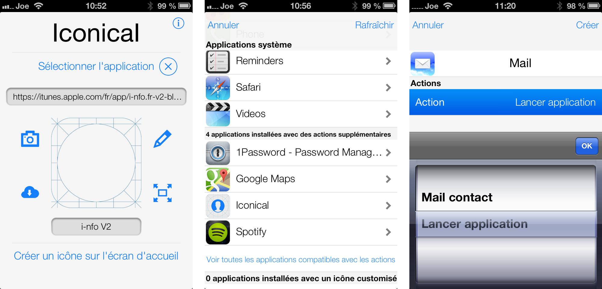 Iconical personnalise sans jailbreak les icônes sur l'écran d'accueil de l'iPhone et de l'iPad