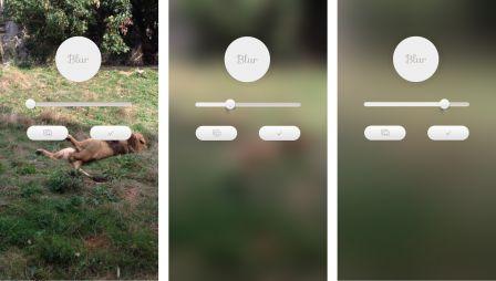 Blur Des Fonds D Ecran Avec Un Charme Flou Sur Iphone Et Ipad