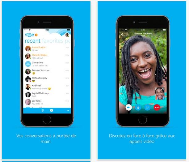 skype gratuit iphone 6