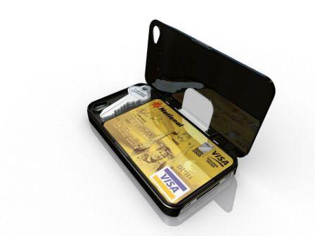 coque iphone xs carte bancaire