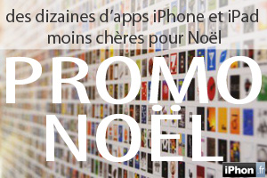promos applis iPhone, iPod touch iPad