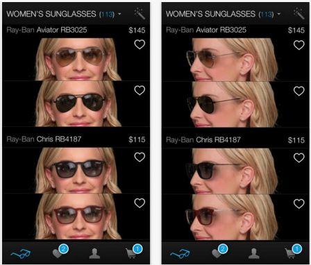 nouvelles variétés grande variété de styles prix raisonnable Essayer ses lunettes virtuellement avec l'iPhone, c'est ...