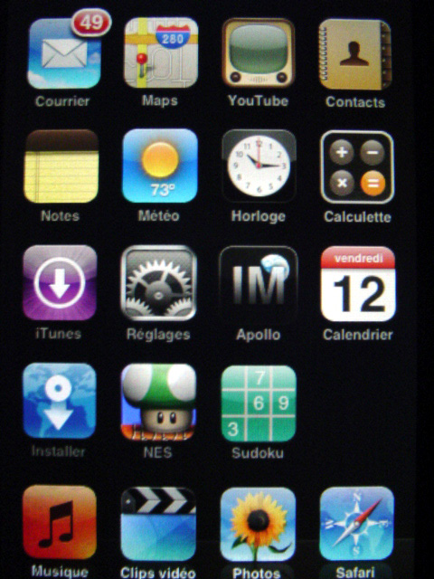 Application rencontre ipod touch