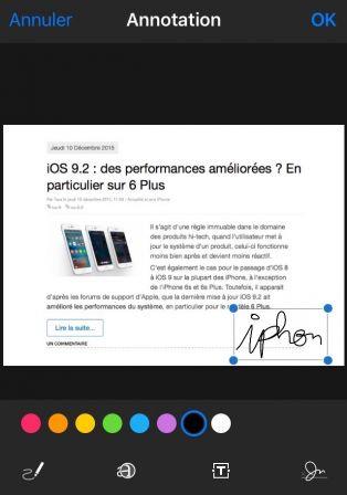 Comment Signer Un Mail Sur Iphone