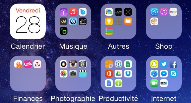 Ranger ses applis iPhone et iPad : tout un art !